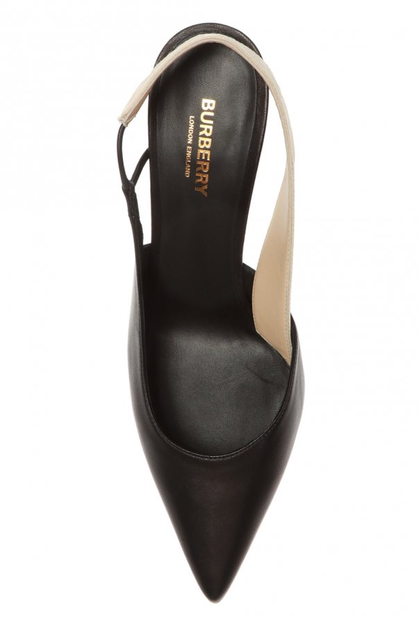 Logo stiletto pumps od Burberry