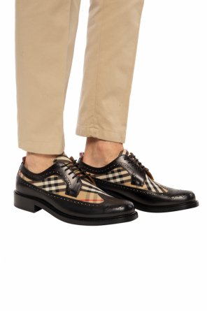 'arndale' lace-up shoes od Burberry