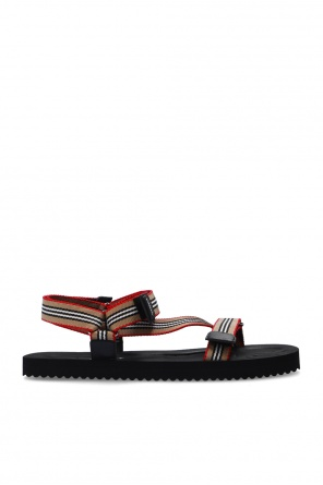 Sandals with logo od Burberry