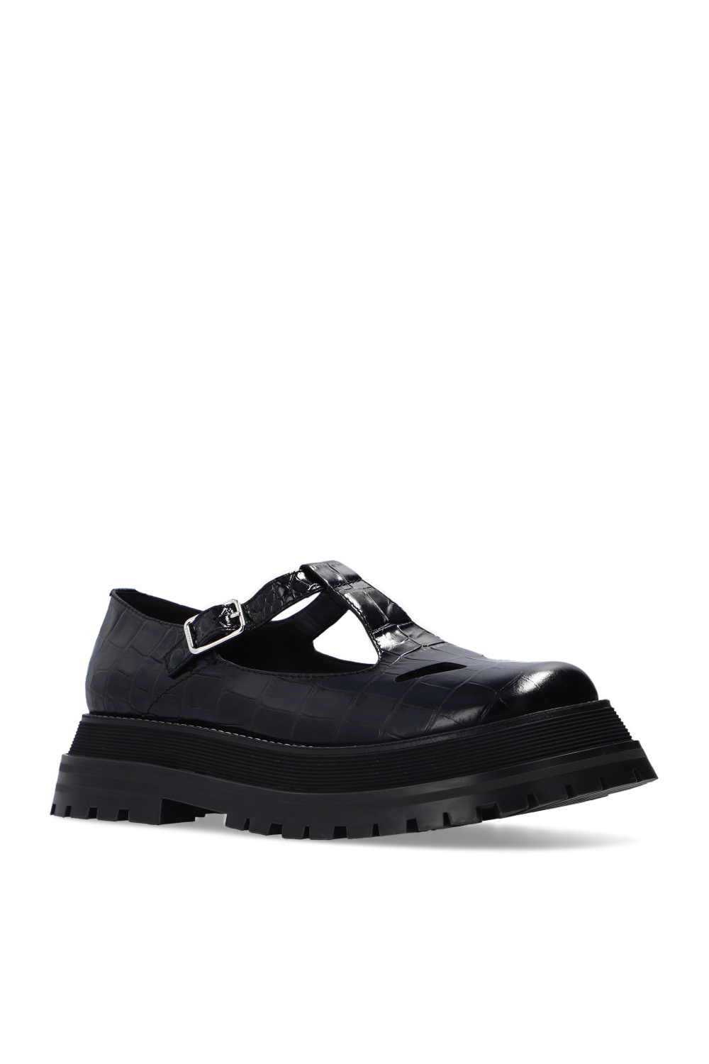 Burberry 'T-Bar' leather shoes