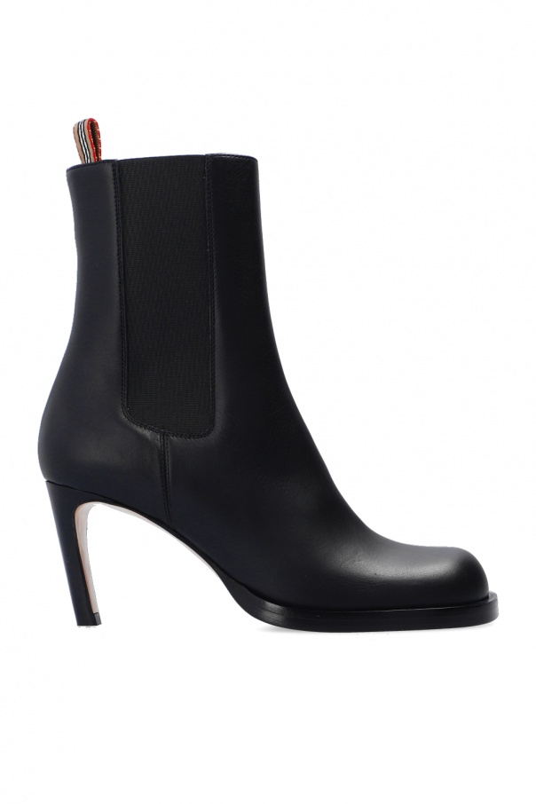 Burberry Leather heeled ankle boots
