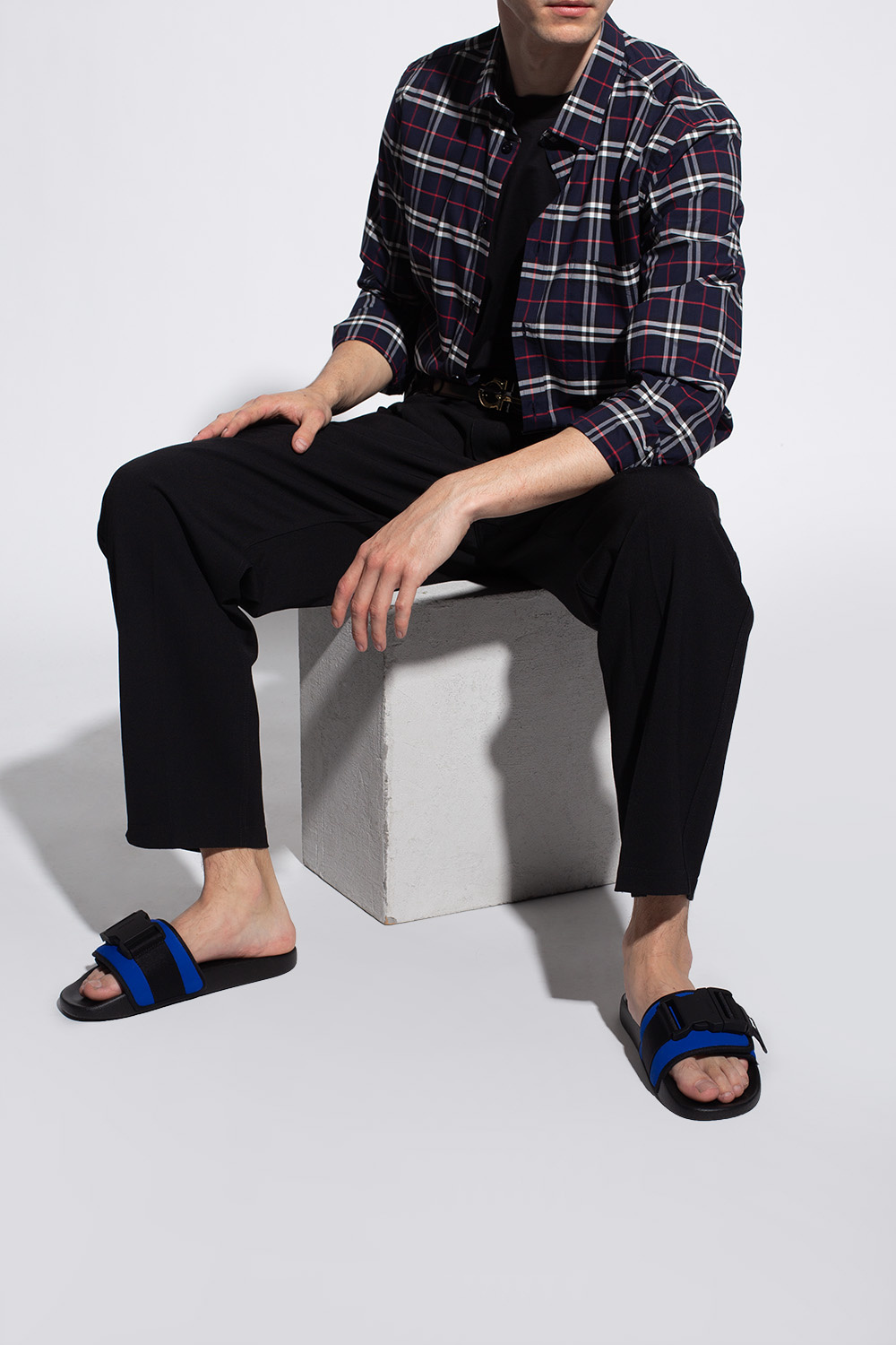 Burberry Slides with logo