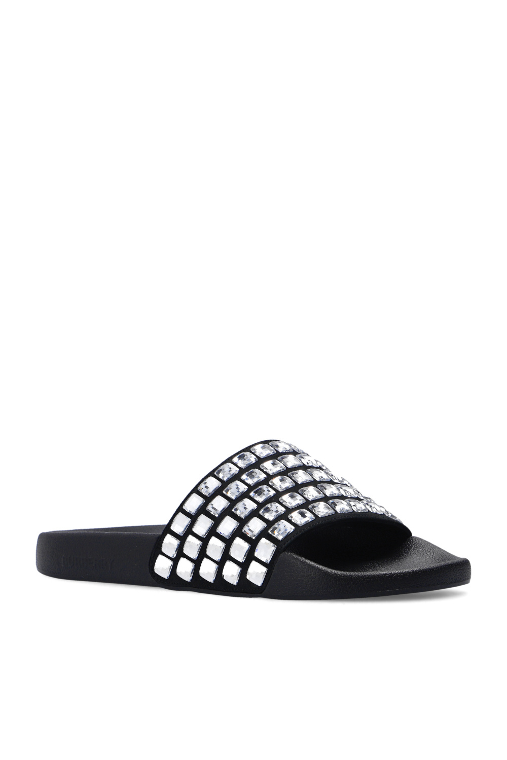 Burberry Slides with crystals