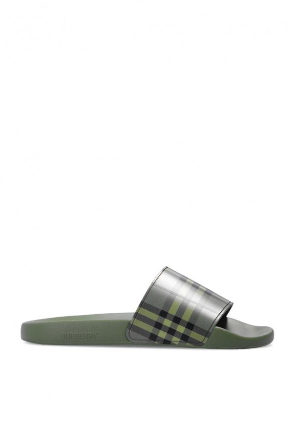 Burberry 橡胶质拖鞋