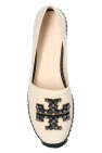 Tory Burch 'Ines' espadrilles with logo