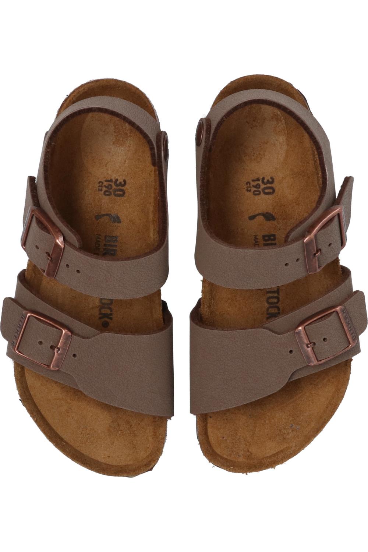 Birkenstock Kids 'New York' sandals with logo