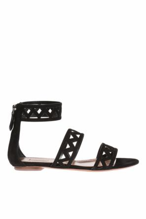 Cut-out ballet flats od Alaia