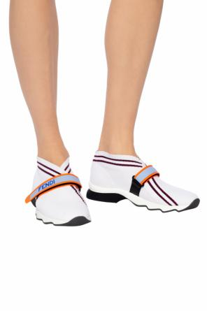 Sneakers with sock od Fendi