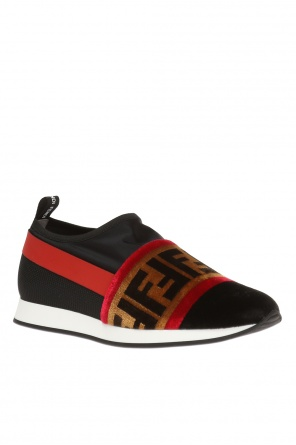 Sneakers with logo od Fendi