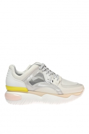 Sneakers with translucent inserts od Fendi