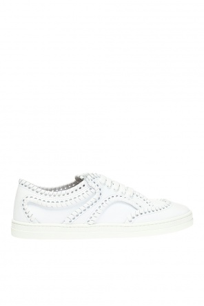 Braided pattern sneakers od Alaia