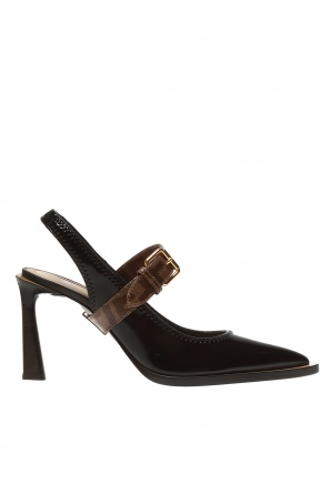 Pumps with logo od Fendi