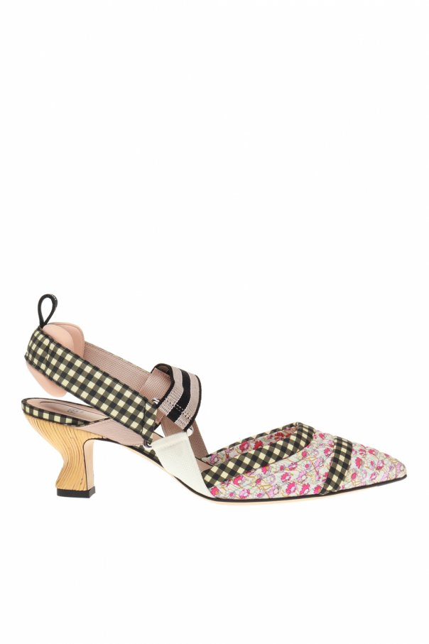 Fendi Patterned pumps
