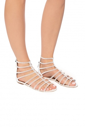 Perforated sandals od Alaia