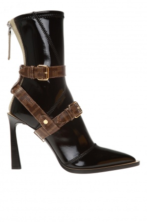 Stiletto-heeled ankle boots od Fendi