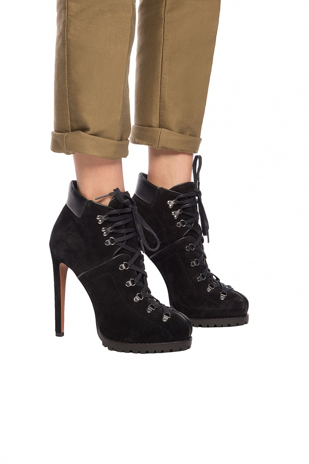 Lace-up heeled boots od Alaia