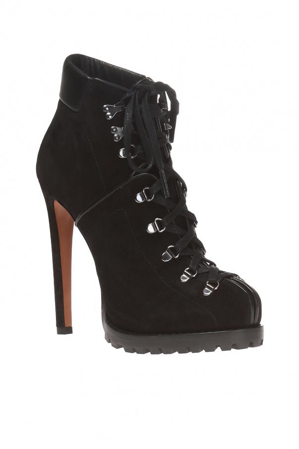 Lace-up heeled boots od Alaia