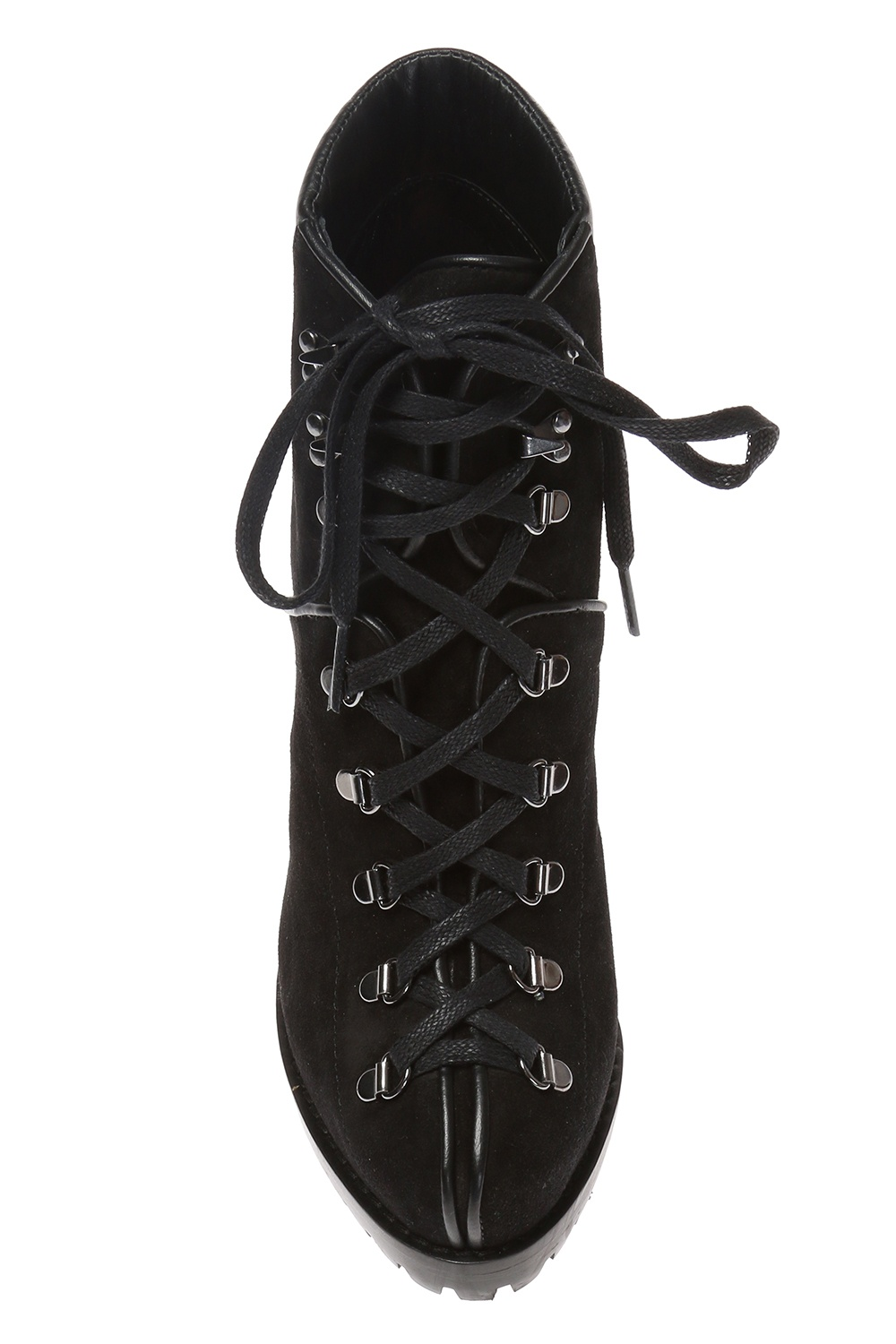 Alaia Lace-up heeled boots