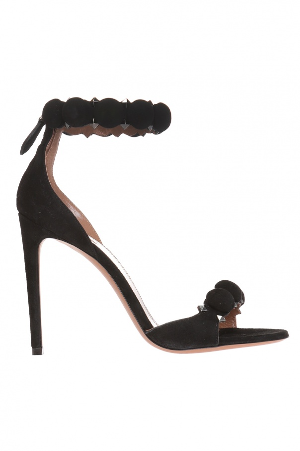 Alaia Suede stiletto sandals