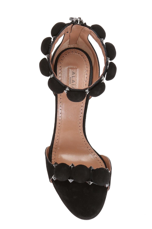 Alaia Suede stiletto sandals