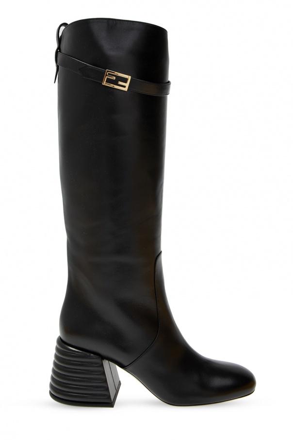 Fendi Heeled knee-high boots