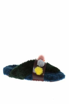 Fur slippers od Fendi