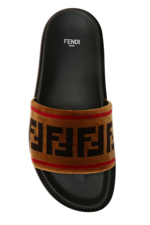 Slippers with a fur finish od Fendi