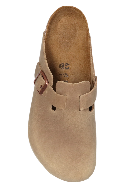 Birkenstock Boston Big Buckle穆勒鞋