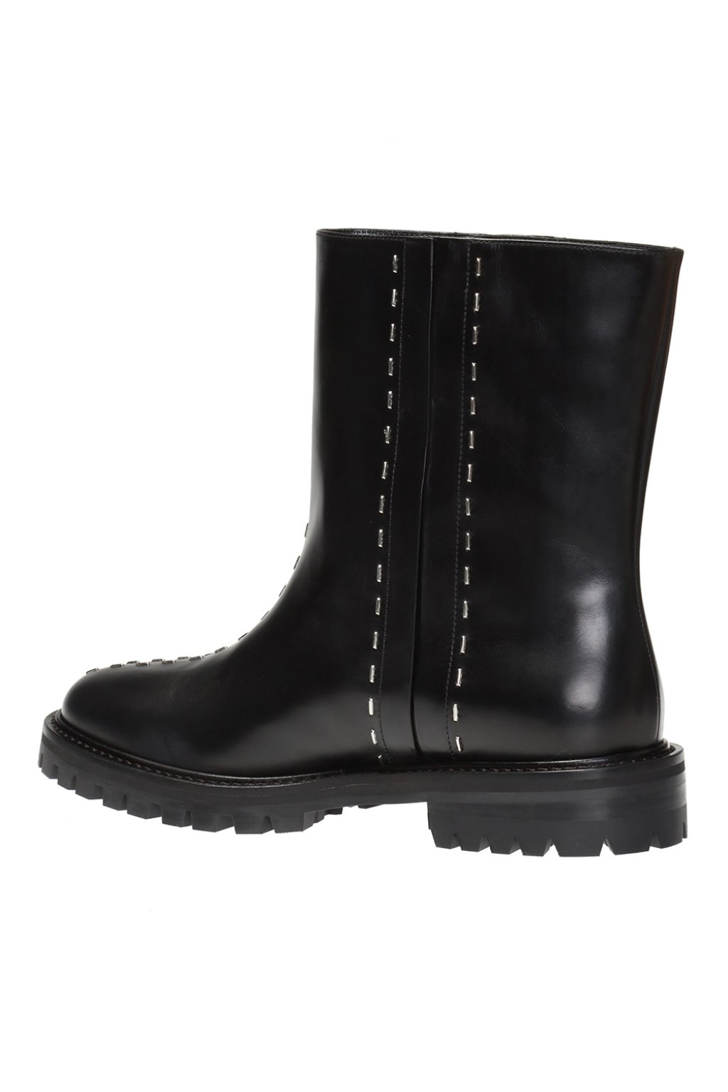 Alaia Ankle boots with metal appliques