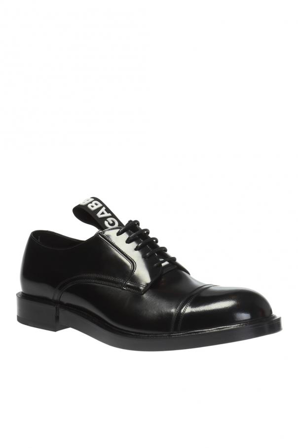 Derby shoes with logo od Dolce & Gabbana