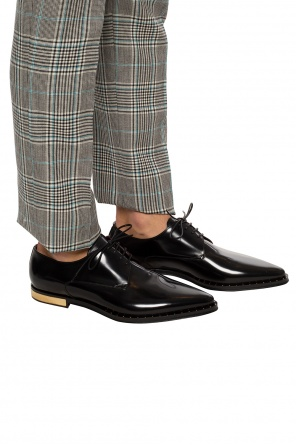 Derby shoes with metal elements od Dolce & Gabbana