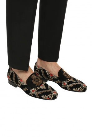 Embroidered loafers od Dolce & Gabbana