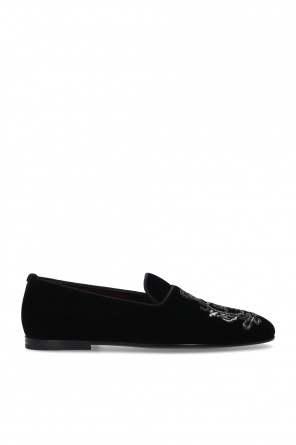 Velour loafers od Dolce & Gabbana