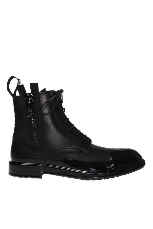 Dolce & Gabbana Logo ankle boots