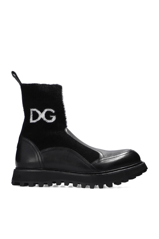 Dolce & Gabbana Buty za kostkę