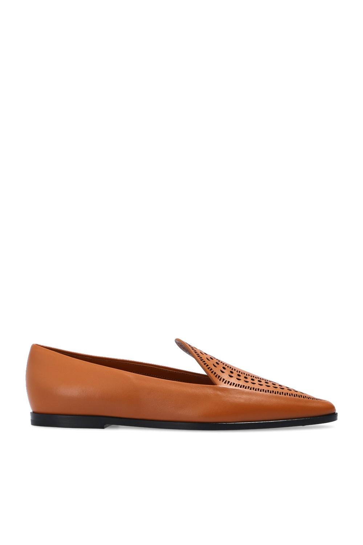 Alaia Cut-out moccasins