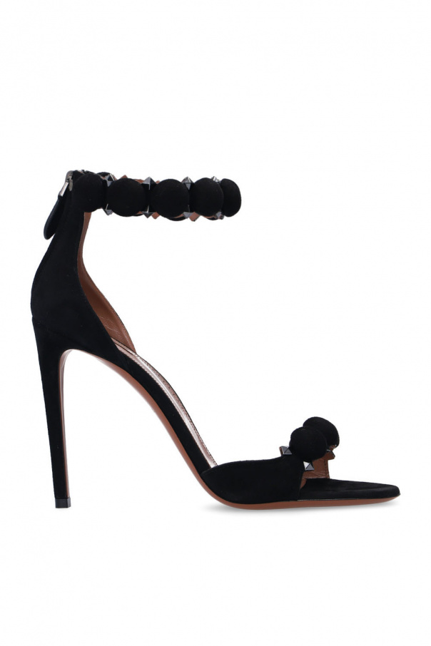 Alaia 'Bombe' heeled sandals