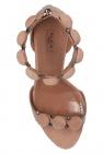 Alaia 'Bombe' heeled sandals