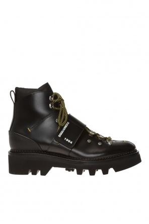 Branded ankle boots od Dsquared2