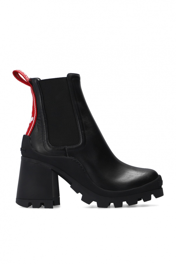 Dsquared2 'Tank Tape' heeled ankle boots