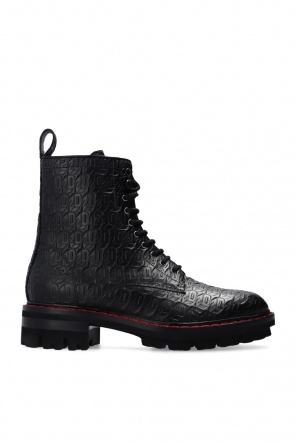 'monogram' ankle boots od Dsquared2