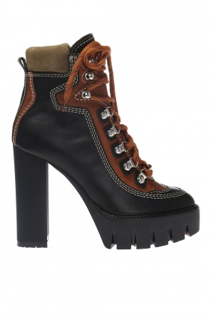 Lace-up platform boots od Dsquared2