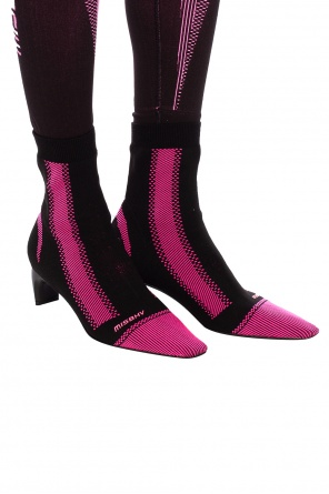 'active square' heeled sock ankle boots od MISBHV