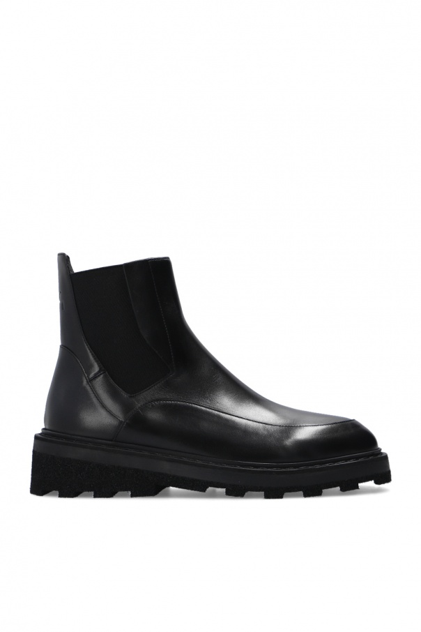 A Cold Wall Chelsea boots with logo