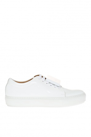 'adriana' patent leather sneakers od Acne