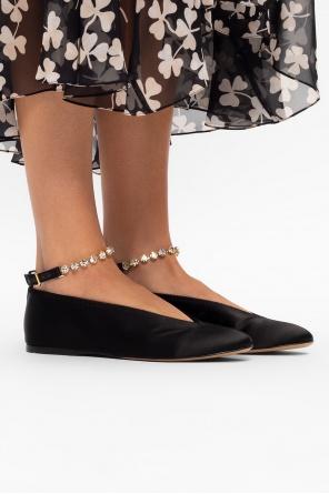 丝绒平跟鞋 od J.W. Anderson