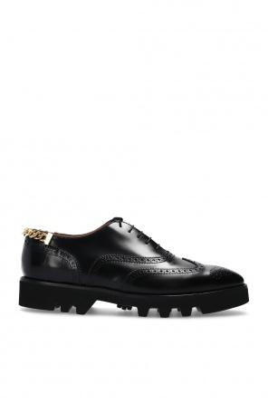 Oxford款式孔洞饰皮鞋 od J.W. Anderson