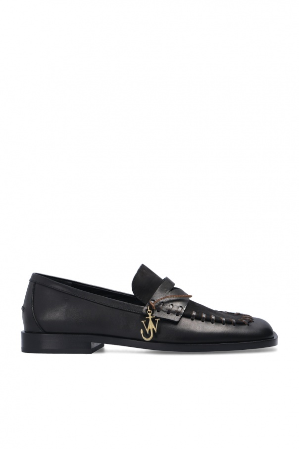 J.W. Anderson Moccasins with logo pendant