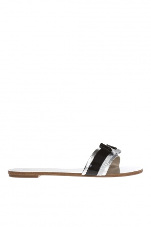 'andie' slides with bows od Sophia Webster