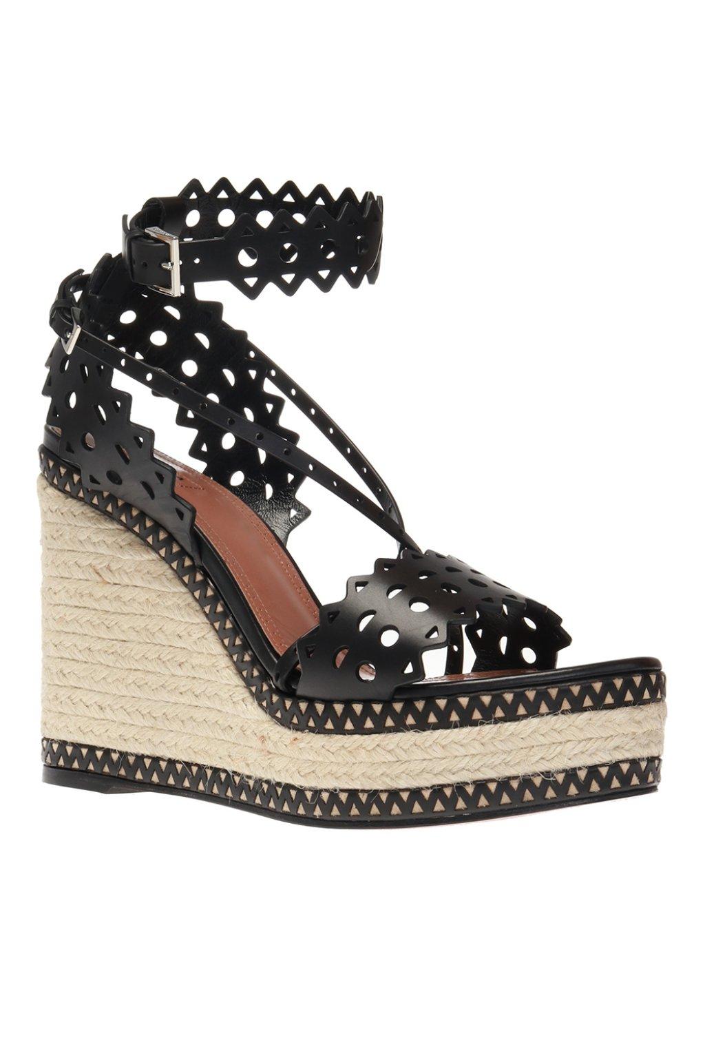 Alaia Wedge sandals
